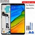 Nuovo per Xiaomi Redmi Nota 5 Pro Display Lcd Pannello Dello Schermo di Tocco di Prova Buona Digitizer Assembly di Ricambio per Xiaomi Redmi nota 5