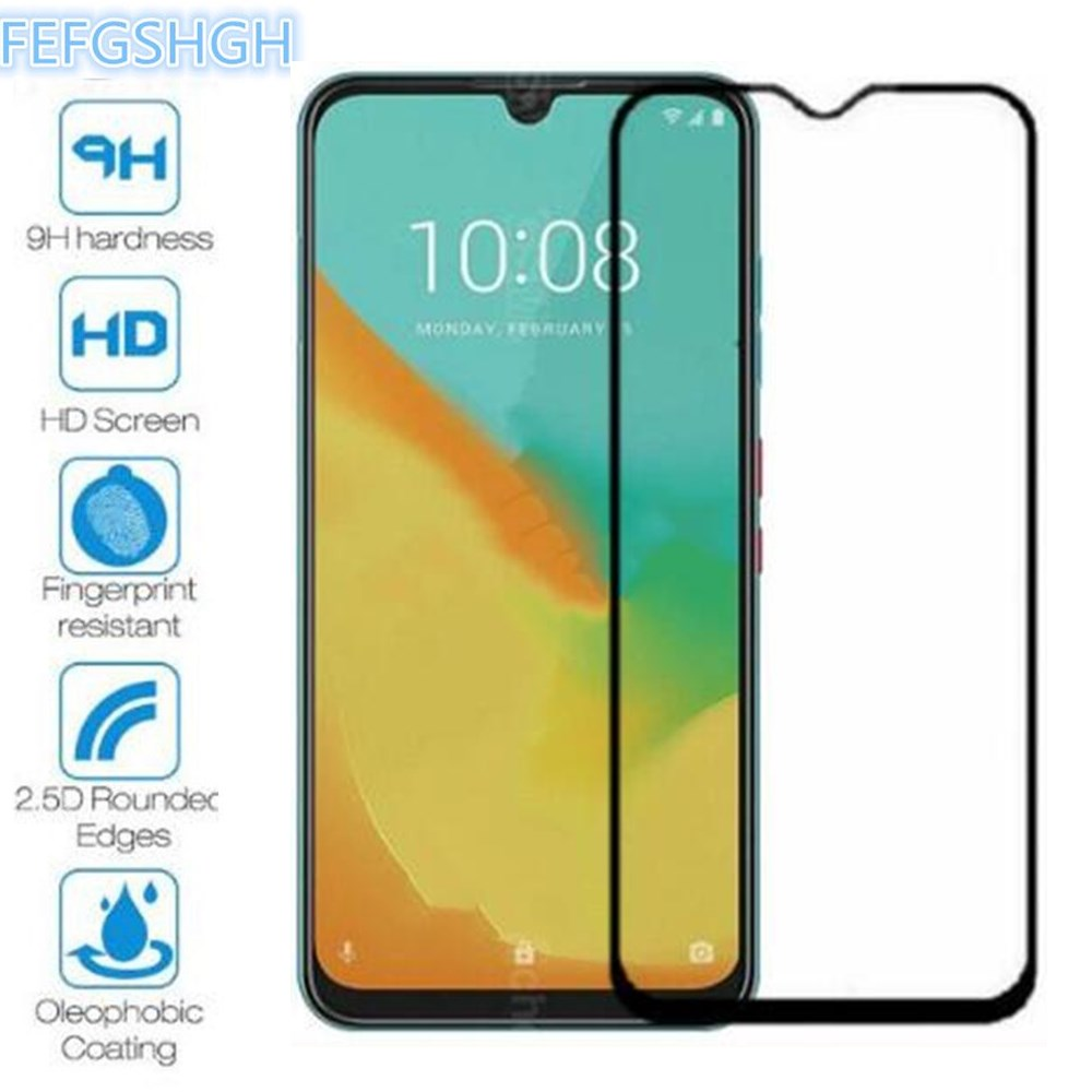 2PCS Full Cover Screen Protector For Zte Blade V10 Tempered Glass On The For Zte Blade V10 Vita Protective Glass Film