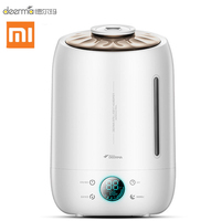 Xiaomi Deerma DEM F500 Air Humidifier Ultrasonic 5L Quiet Aroma Mist Maker Led Touch Screen Timing Function Home Water Diffuser|Humidifiers| |  -