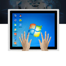 10/12/15/17 zoll branchen touch Panel PC embedded Computer mit kapazitiven touch Intel J1800 i3 windows 7 alle in Einem PC