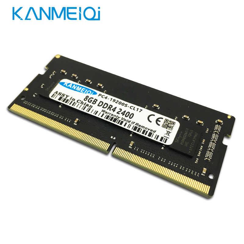 Оперативная Память DDR4, 4 ГБ, 8 ГБ, 16 ГБ, 2133 МГц, 2400 МГц, 2666 МГц, 1,2 в, память ноутбука SO-DIMM, модуль ноутбука KANMEIQi