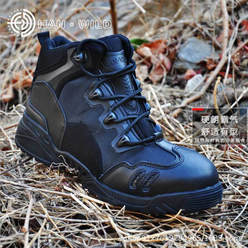 Cross-Border Magnum Boots Men's Low-Top Special Forces Tactical Boots Outdoor Hiking Shoes Breathable Tactical Desert Boots