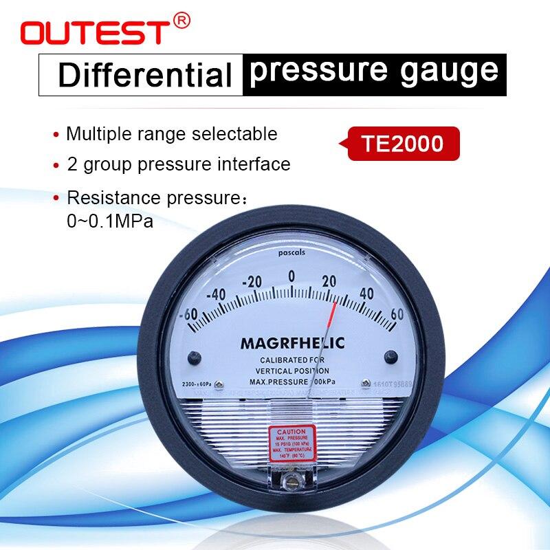 Высокоточный Воздушный манометр, вакуумный манометр, микро манометр, диапазон измерения 0 30 па ~ 0 30 кПа на выбор|differential pressure gauge|vacuum manometerpressure gauge | АлиЭкспресс