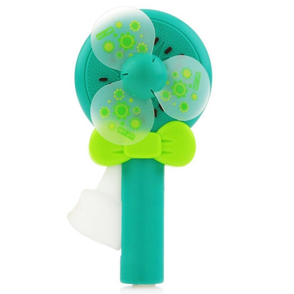 New Fresh Fruit Hand Pressure Small Fan Pocket Fruit Portable Hand-held Press Clearance Summer Mini Fan