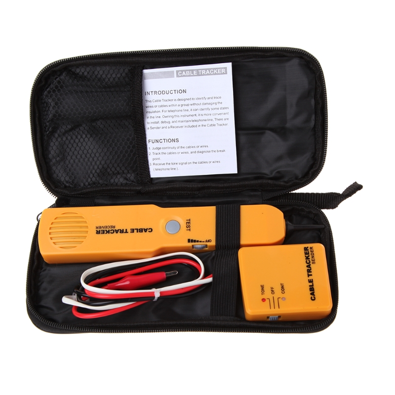 Network Tracker Diagnose Finder Tools Telephone Wire Tester Tracer Detector