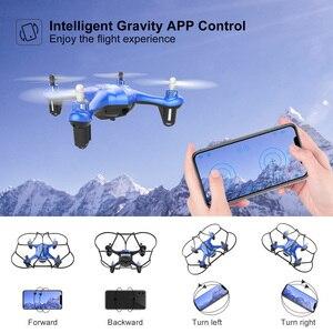 Image 2 - Mini Dron APEX con cámara 720P FPV, Mini Dron con cámara HD, Quadcopter, helicóptero RC, modo de retención de altitud sin cabeza
