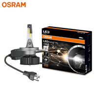 OSRAM LED H4 9003 HB2 12V 25W HYZ LED Headlight Auto Hi/lo Beam 6000K Cool White Lamps Car Original Bulbs 46204CW, 2X