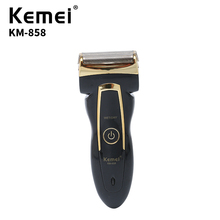 220V mens portable electric travel Kemei shaver rechargeable high quality razor daily necessities KM-858