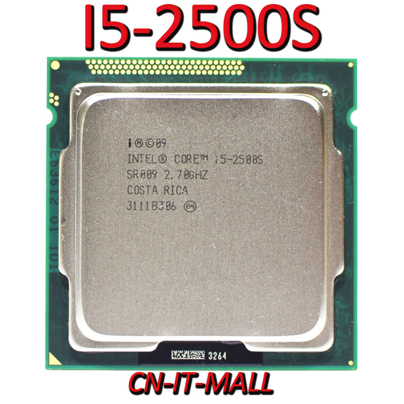 Pulled I5-2500S 2.7G 6M 4 Core 4 Thread LGA1155 Processor