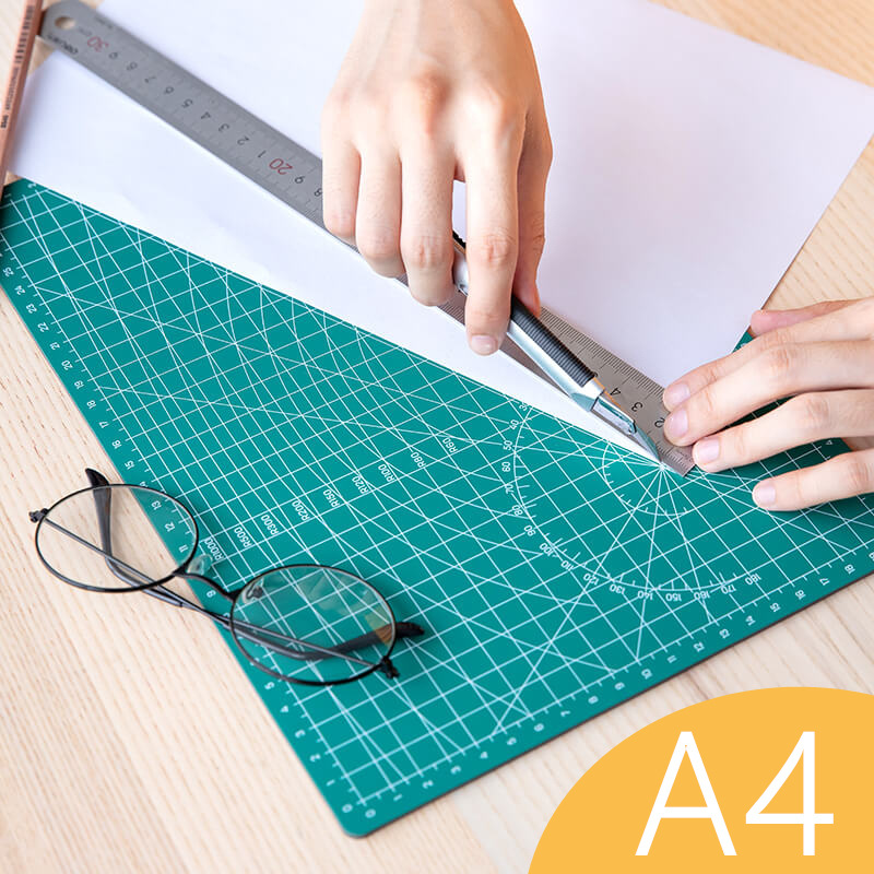 Cutting Pad Board A4 Green Model Pad Mouse Pad Specifications High Density Pvc Material Strength Self-healing Cutting Pad Board