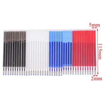 10pcs High Temperature Evaporation Filling Leather Clothing Dash Cutting Marker Pen School Office Supplies image