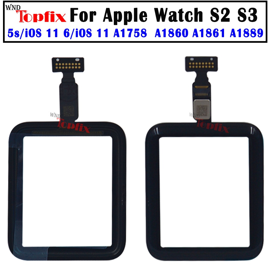 38mm/<font><b>42mm</b></font> <font><b>Touch</b></font> <font><b>Screen</b></font> For <font><b>Apple</b></font> <font><b>Watch</b></font> Series 2 <font><b>3</b></font> <font><b>Touch</b></font> <font><b>Screen</b></font> Digitizer For <font><b>Watch</b></font> Series 2 <font><b>3</b></font> <font><b>Touch</b></font> Panel <font><b>Replacement</b></font> Parts image
