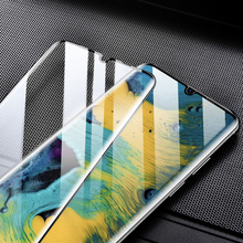 9D Curved Full Cover Screen Protector For Huawei P40 Mate 30 Pro Mate 20X 5G P30 Tempered Glass Honor V30 Note 10 20 Glass Film 2 in 1 full cover 9d tempered glass for huawei honor v30 v30 pro v20 screen protector