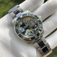 Часы steeldive sd1953j nh35 Мужские автоматические механические