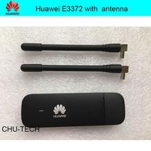 Разблокированный huawei E3372 E3372h-153 с антенной 4G LTE Dongle мобильный широкополосный USB модемы 4G модем LTE модем