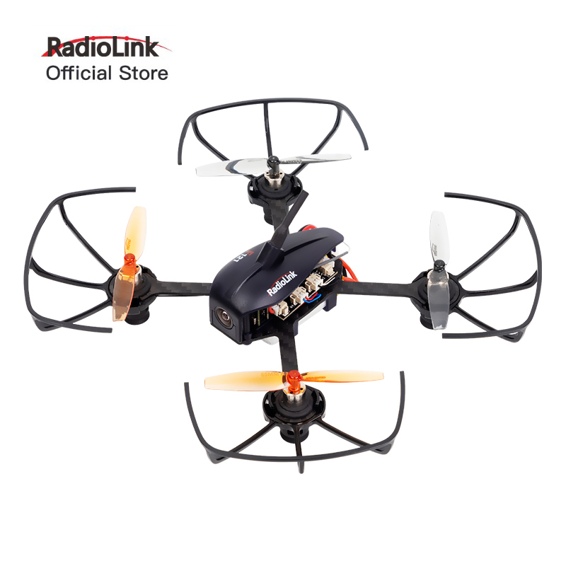 Radiolink F121 Brushed FPV Racing Drone Mini Quad 2km Range RTF BNF T8S R8SM kit Education 3 Flight Mode 121mm Outdoor/Indoor image