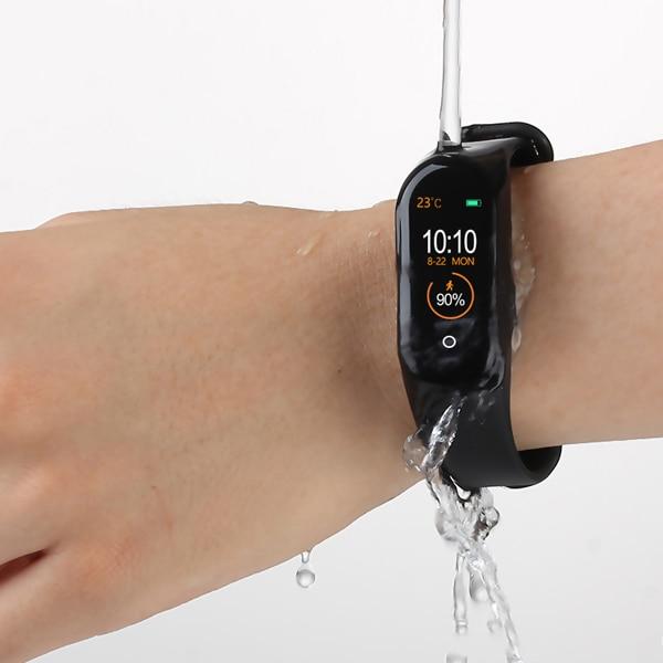 M4 Smart Band Fitness Tracker Watches Sport Bracelet Heart Rate Blood Pressure Smartband Monitor Health Wristband PK Mi Band 4