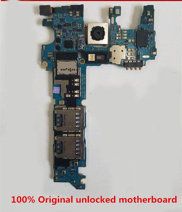 Full Working 100% Original Unlocked For Samsung Galaxy N9100/N910U/N910A/N910V/N910G/N910FMotherboard Logic Mother Circuit Board