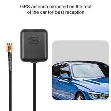 Nawigacja samochodowa GPS antena SMA pozycja GPS zlokalizuj odbiornik sygnału i antena antena samochodowa 3M podstawa magnetyczna kabla do radiowy system nawigacyjny ANT-MD tanie tanio kebidumei GPS Antenna Car Odbiornik i anteny Black GPS Antenna GPS Receiver RG174 1575 42MHz