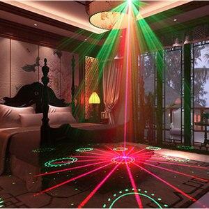 Image 5 - Projecteur Laser pour spectacle, système de spectacle Laser pour fête musicale, lumière de couleur, 20 motifs avec stroboscope