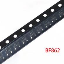 10pcs BF862 SOT-23 BF862,215 SOT23 JFET N-CHAN 20V SOT