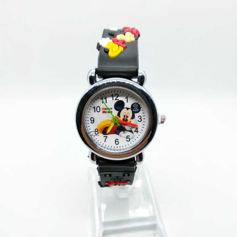 3D Del Fumetto Bello di mickey Giocattolo Per Bambini Bambina bambino Studenti Da Polso Al Quarzo Orologio del Regalo Dei Bambini Popolare Del Bambino orologi regarder orologio