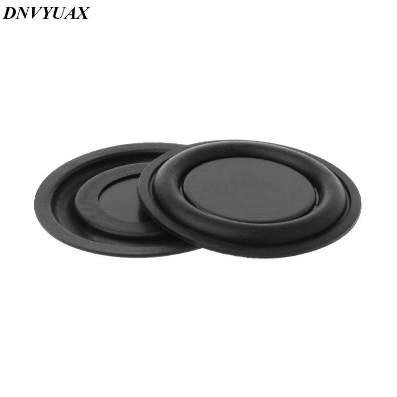 2pcs 30/40/45/50/52/62mm Passive Radiator Subwoofer Speaker Vibration Membrane Bass Rubber Woofers