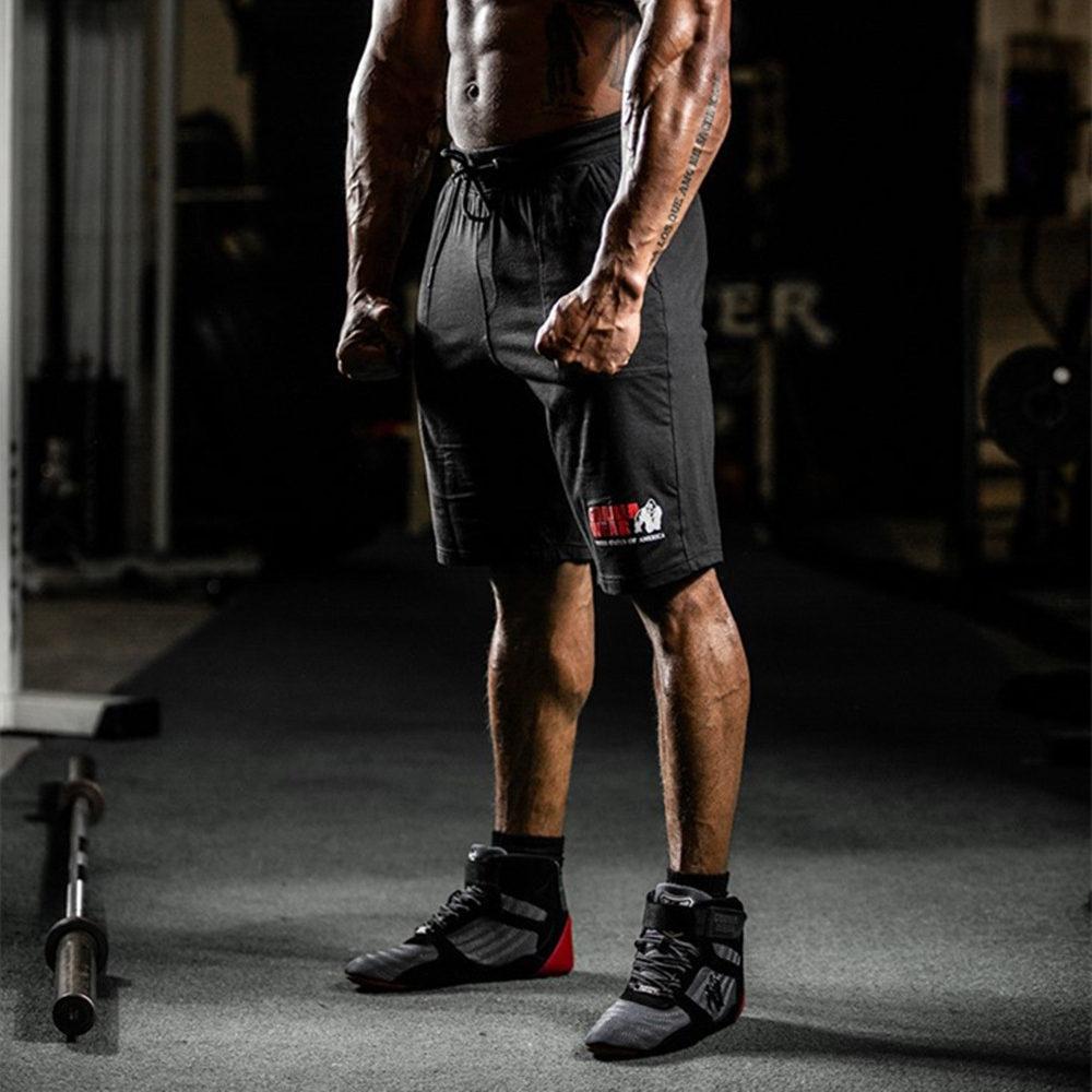 New Men Gyms Fitness Bodybuilding Shorts Summer Casual Fashion Beach Short Pants Male Crossfit Workout Cotton Sweatpants Bottoms