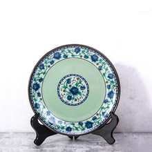 Placa de plástico placa especial utensílios de mesa melamina imitação porcelana