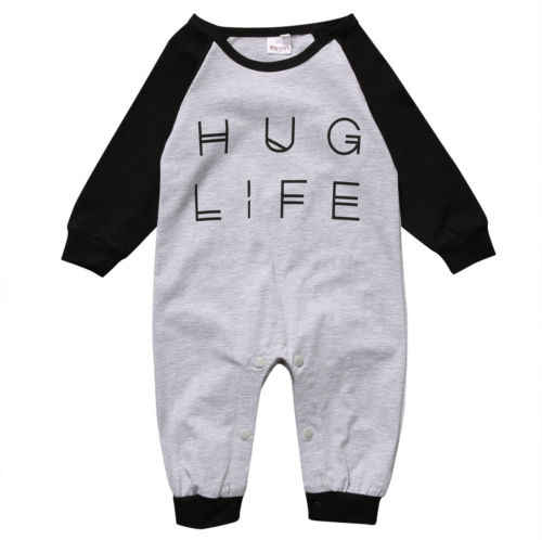 2019 new Top Baby Boys Girl Infant Romper Jumpsuit  Cotton Clothes Outfit Set HOT