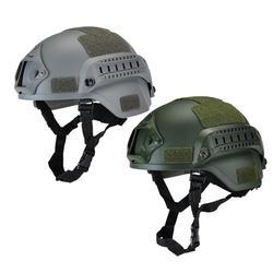 Strzelanie na zewnątrz sprzęt ochrony myśliwskiej armia kask rowerowy wentylator CS kask lekki kask taktyczny taktyczny I5M0