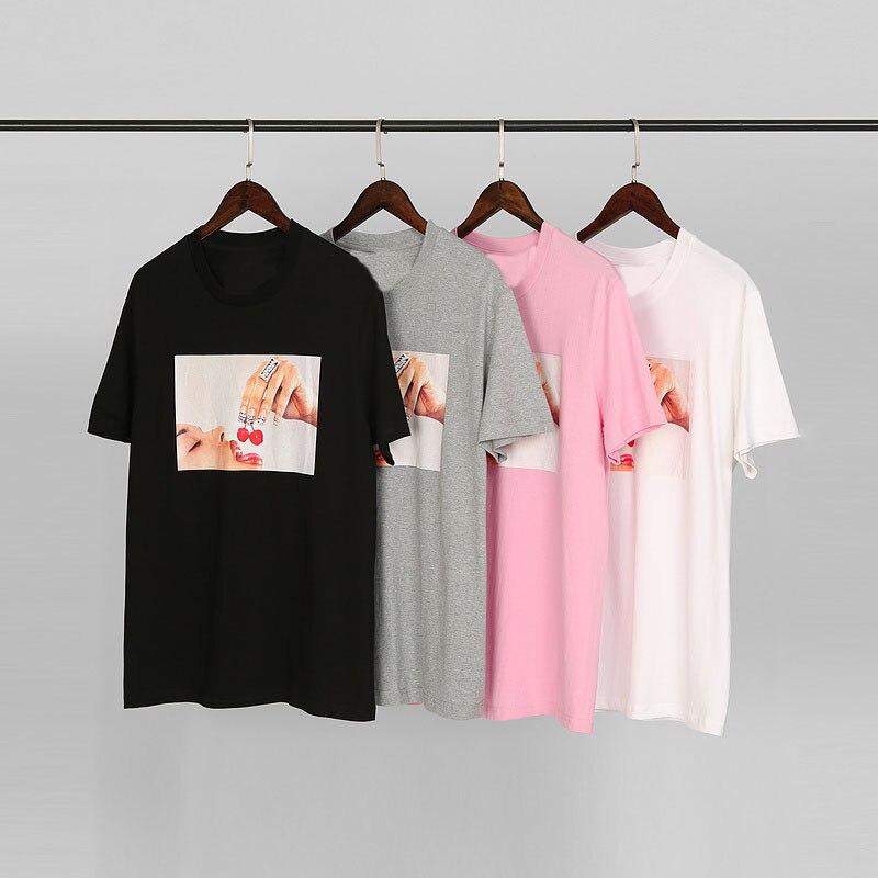 Sureme 20ss Cherries Tee Men Women Couples Short Sleeve T Shirts Bogo Women Eat Cherry Printed Cotton T-Shirt Men