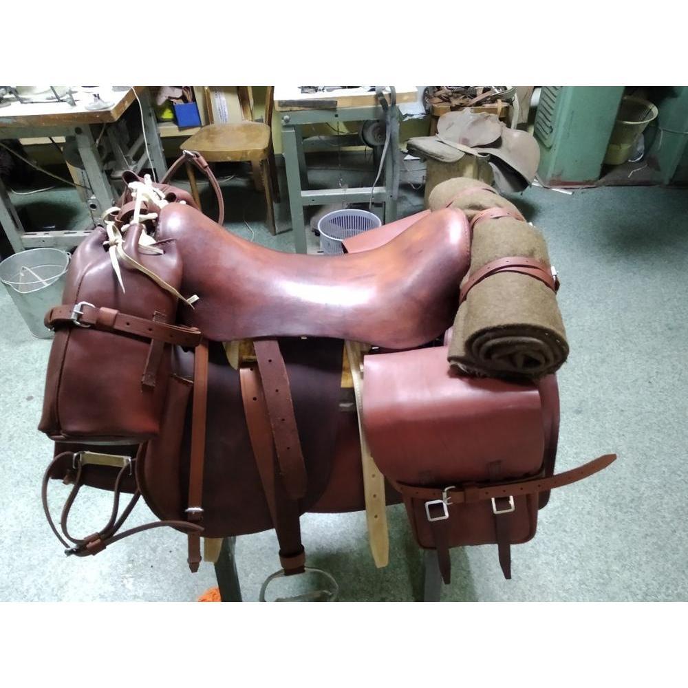 Советское Saddle верховое кавалерийского Type With вьюком, кавалерийское Saddle, драгунское Saddle, Cavalry Dragoon Saddle