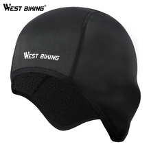 WEST BIKING Cycling Caps Winter Thermal Fleece Bicycle Caps Windproof Warm Bike Riding Hats Outdoor Sports Running Cycling Caps west biking autumn women cycling clothes quick drying outdoor long sleeve clothing spring and riding fitness sports coat jerseys