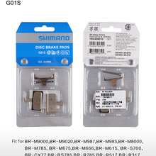 Дисковые велосипедные тормозные колодки G01S XT тормозного диска M9000 M9020 M985 M988 Deore XT M8000 M785 SLX M7000 M675 Deore M6000 M615