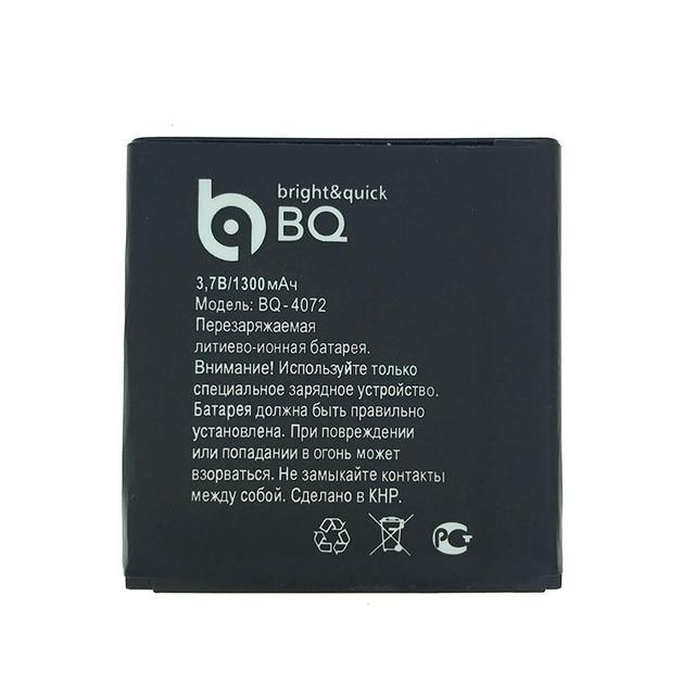 Wisecoco 1300mAh BQS-4072 Battery For BQ-4072 Strike Mini NEW Original Cellphone + Tracking Number