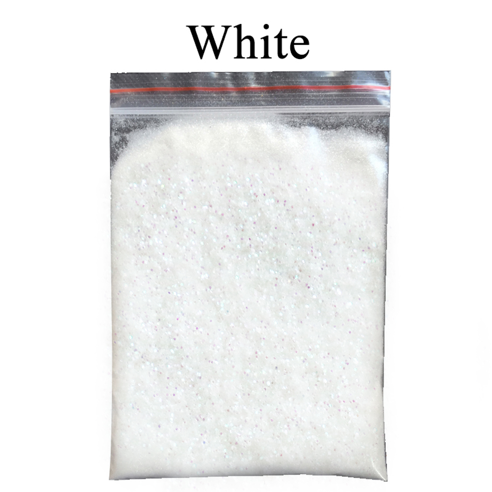 White Glitter Powder Pigment Coating Dye For Painting Nail Decorations Automotive Arts Crafts Acrylic Paint Mica Powder Pigment