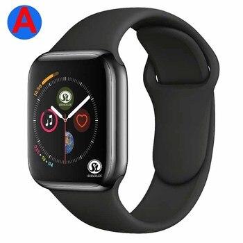Смарт часы серии 4 с Bluetooth, мужские Смарт часы с удаленным управлением телефонных звонков и камерой для IOS, Apple, iPhone, Android, Samsung, HUAWEI|Смарт-часы|   | АлиЭкспресс