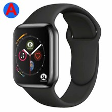 Smartwatch seria 4 Bluetooth inteligentny zegarek mężczyźni z telefonem zdalna kamera dla IOS Apple iPhone Android Samsung HUAWEI