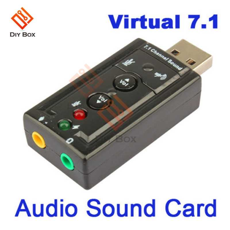 Canggih Tablet Baru Mini USB 2.0 3D Virtual 12Mbps Eksternal 7.1 Channel Audio Sound Card Adapter