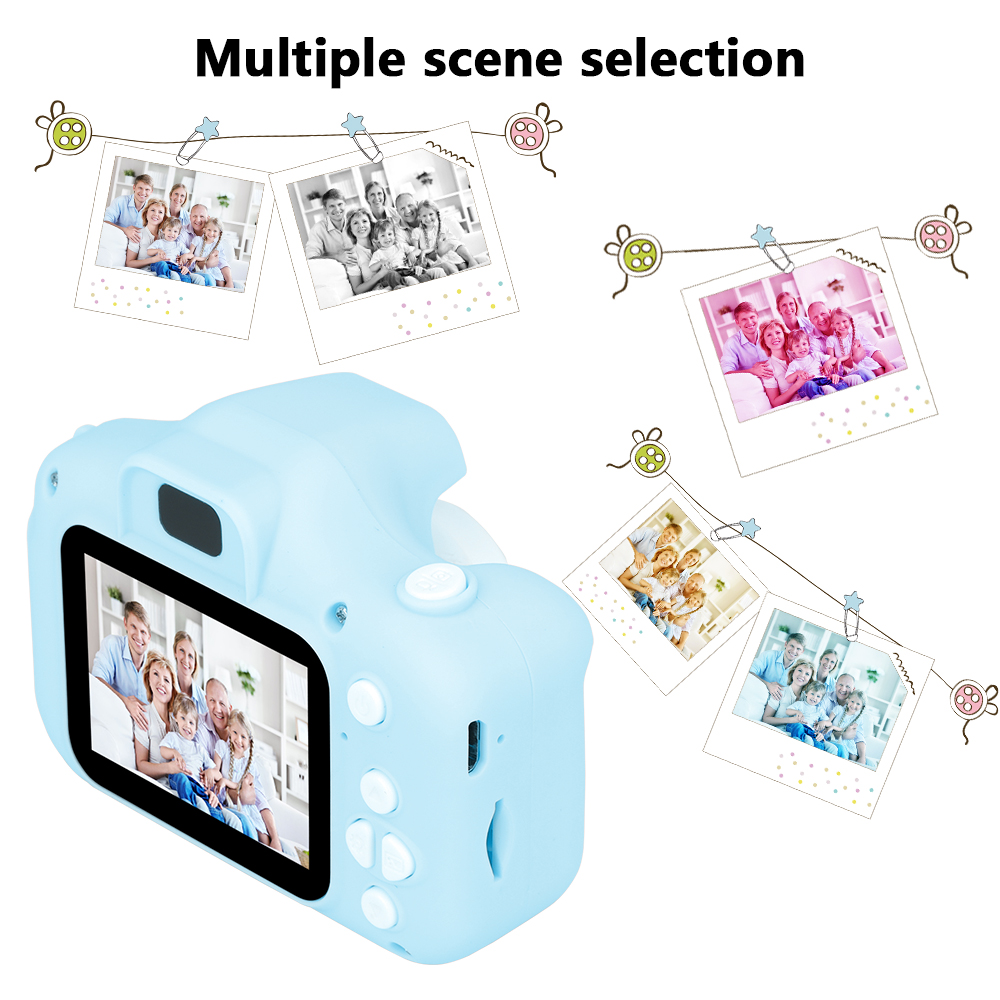 New Arrive  Cheap Rechargeable Photo Video Playback Cameras Kids Toy For Girl 32GB Mini Children's Camera Child Birthday Present 3