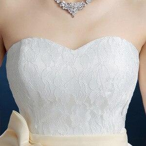 Image 3 - Popodion vestido de noiva sem alças, de princesa, roupa de noiva para casamento, taman90540
