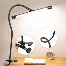 Table Lamp 36 Led Desk Lamp Clamp Clip Study Lamps DC5V USB Powered table Light usb Table Light USB Powered LED Table Lamp