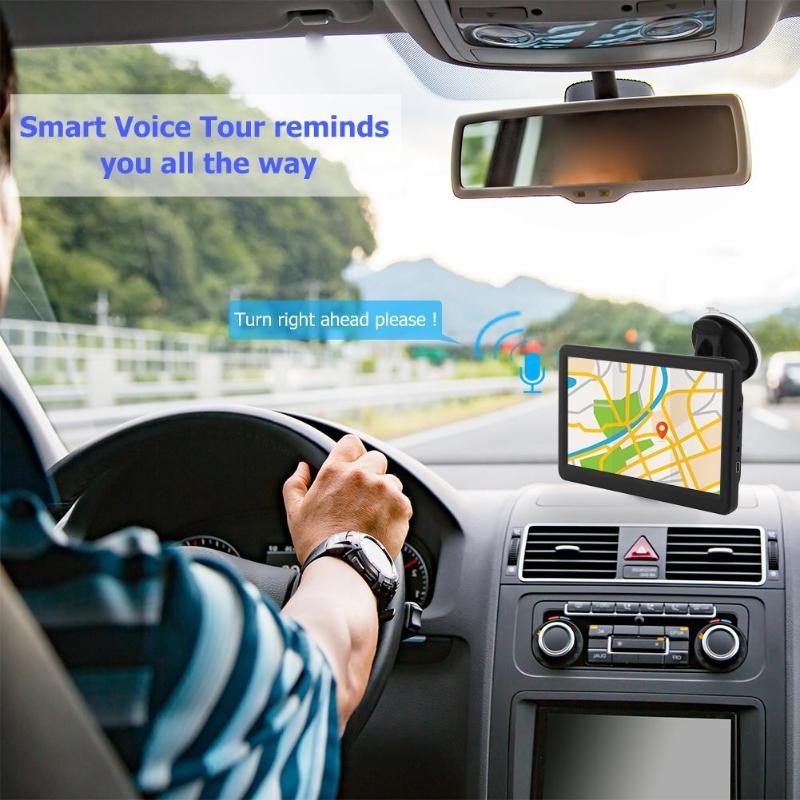 7 inch HD Touch Kapazitiven Bildschirm 8G + 256MB Auto GPS Navigation Karte FM Sender MP4 Player Navigator
