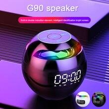 Многофункциональный беспроводной динамик g90 часы цветной bluetooth