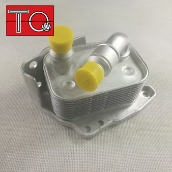 De aluminio de enfriador de aceite de motor para BMW E46 E60 E81 E87 E90 316i 318i 318ci 318ti X3 11427508967