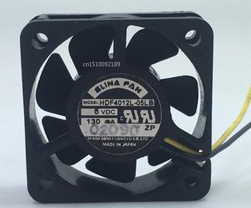 For ELINA HDF4012L-05LB DC 5V 120mA 40x40x15mm 2-wire Server Cooler Fan Free Shipping