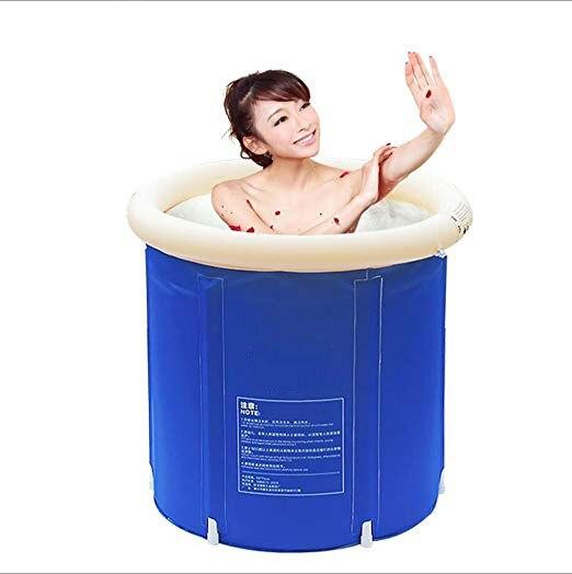 Nouveauté baignoire adultes baignoire pliante baignoire en plastique Portable baignoire Spa baignoire de Massage