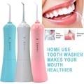 Munddusche USB Aufladbare Wasser Flosser Tragbare Dental Wasser Jet 230ML Wasser Tank Reduziert Bakterien Wasserdichte Zähne Sauber