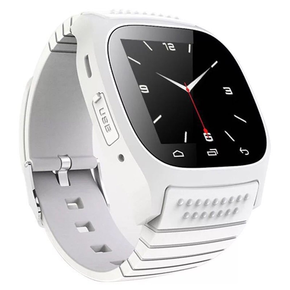 Waterproof Smartwatch M26 Bluetooth Smart Watch Daily Waterproof LED Display For Android Phone